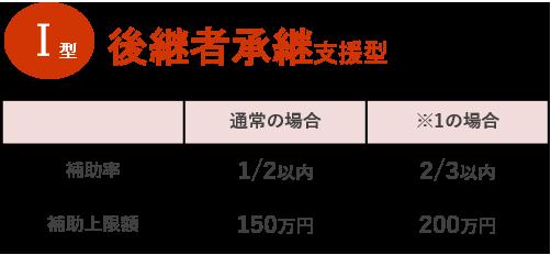 Ⅰ型 後継者承継支援型